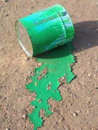 Green Paint Bucket