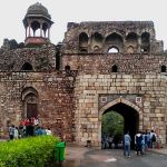 Bara Darwaza or Main Entrance Gate, Purana Qila