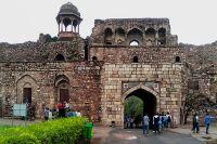 Bara Darwaza or Main Entrance Gate, Purana Qila