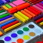 Crayons and Pastel Colours