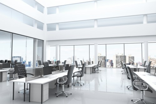janitorial office cleaning example demo in downtown Toronto business