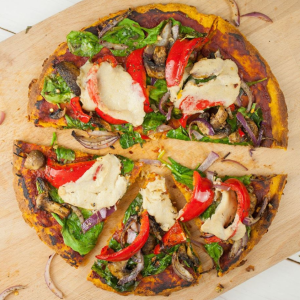 pizza 100% légumes