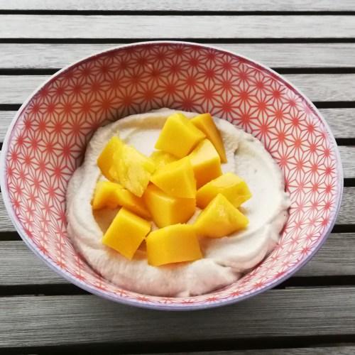Crème de cajou aux fruits