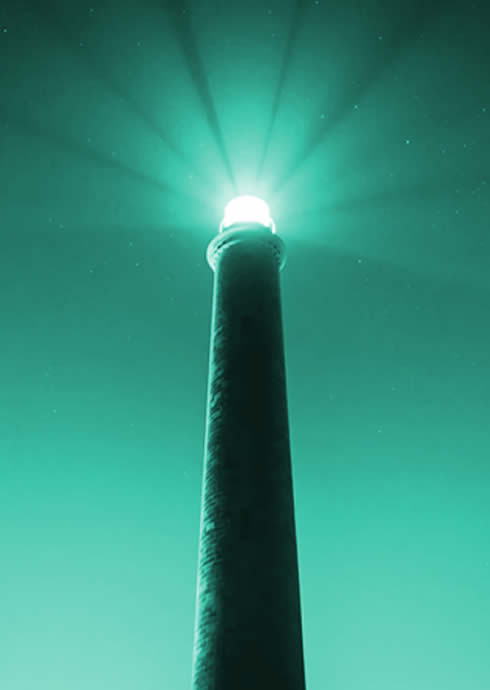 Rays of Guiding Light
