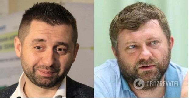 Арахамия и Корниенко оконфузились из-за включенных микрофонов: назвали коллегу «рабочей бабой, как корабельная сосна»