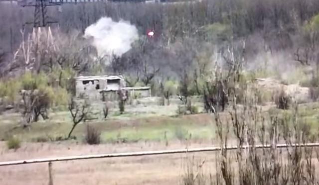 ВСУ уничтожили снайпера «ДНР»: видео