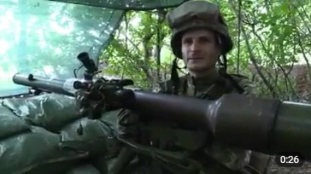 Украинский солдат записал на передовой обращение к разгоняющим в тылу зраду из-за перемирия