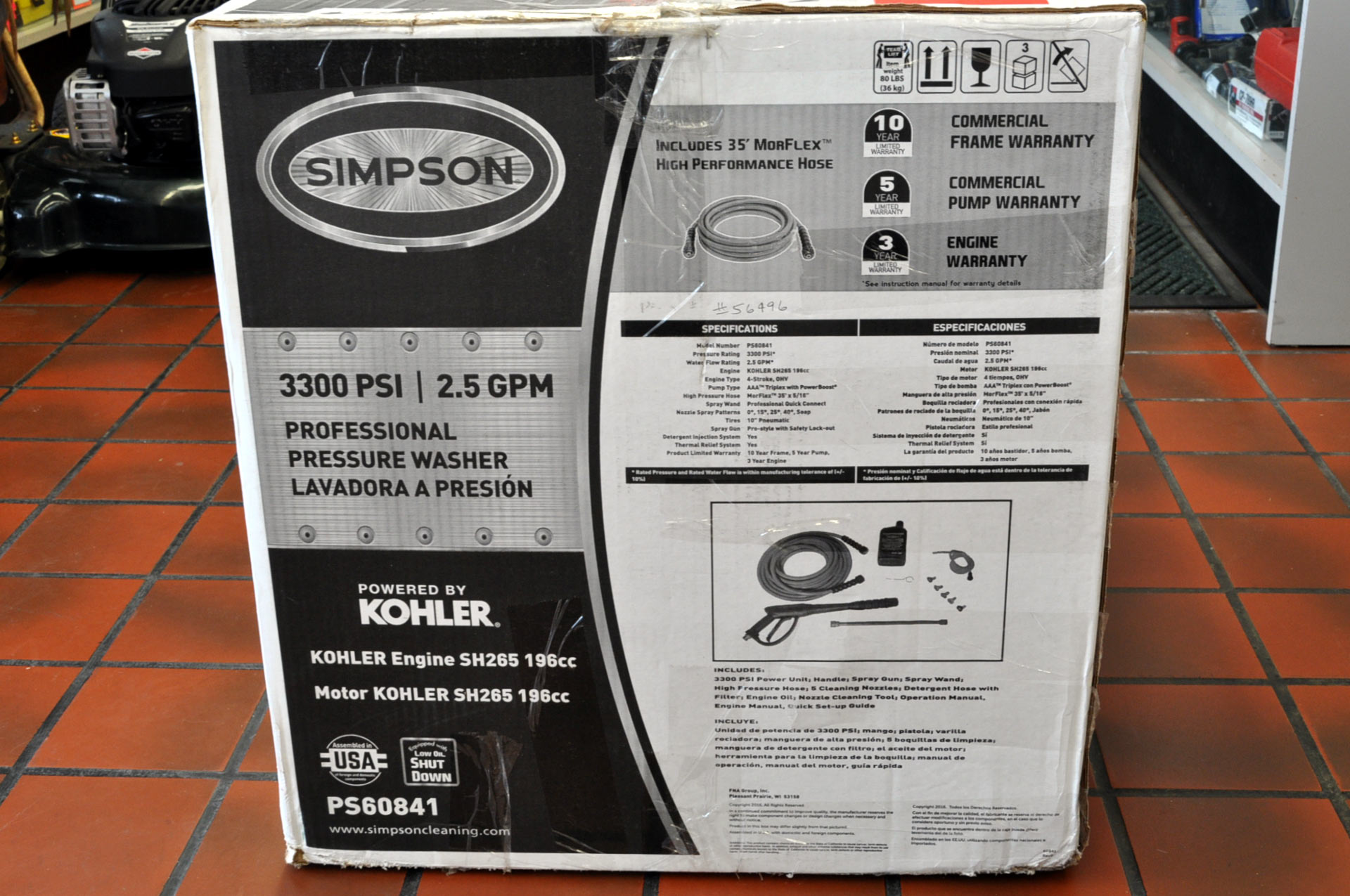 Simpson Pressure Washer
