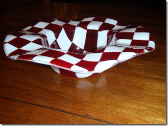 Checkered glass 018