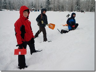Snow Fun and Dutch Oven Cooking 002