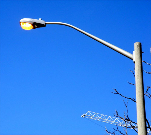 Reporting Street Lights Out