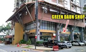 Green Daun Shop Location