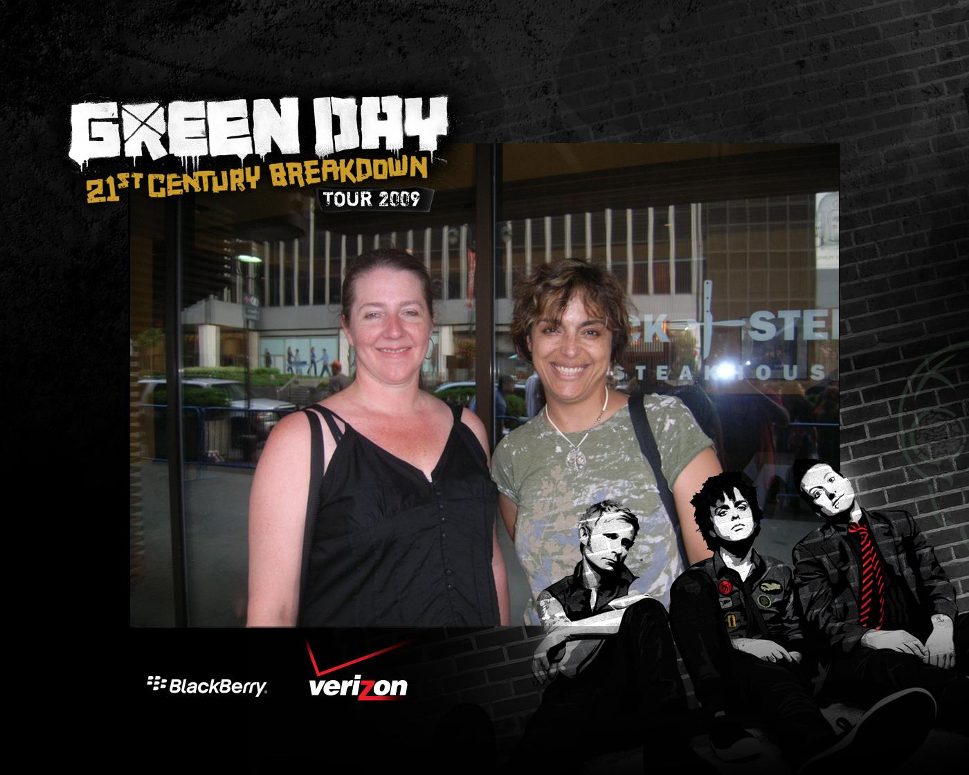 Liz and me at the Green Day show, MSG1