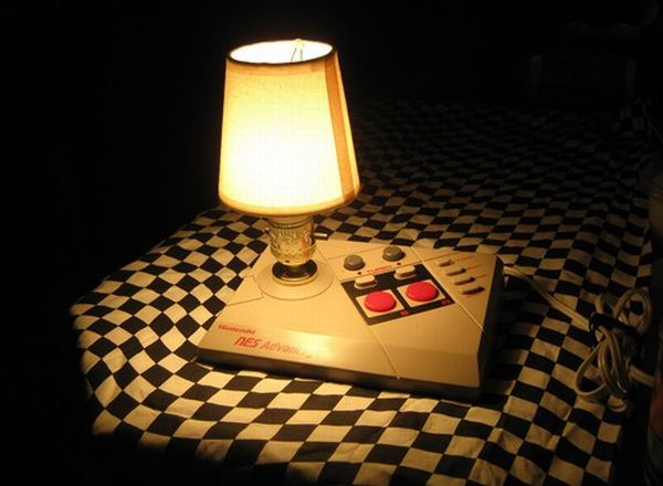 8 bit legacy nes advantage joystick desktop lamp 4