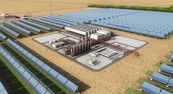Abu Dhabi Solar plant