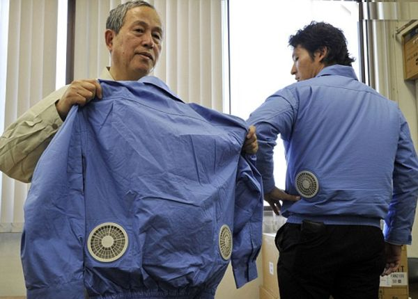 Air-Conditioned Clothing