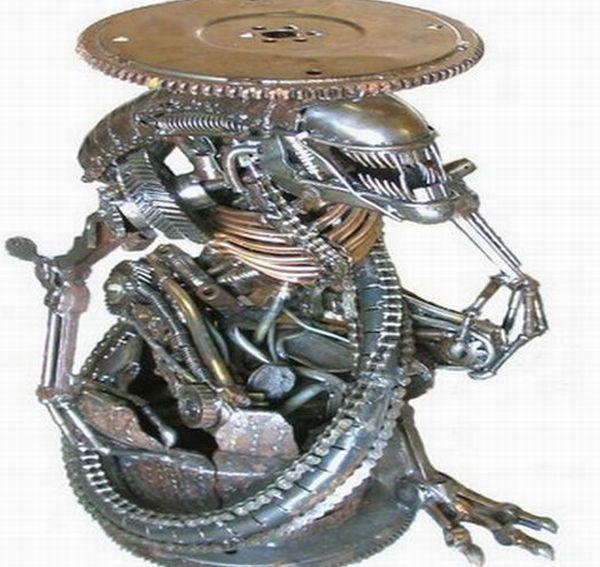 Alien eco-furniture