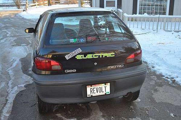 Ben Nelson's DIY electric car