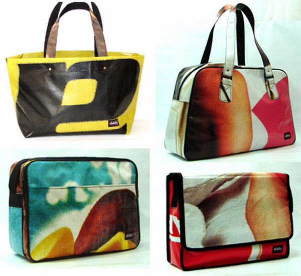 Billboard bags from SHIBBY