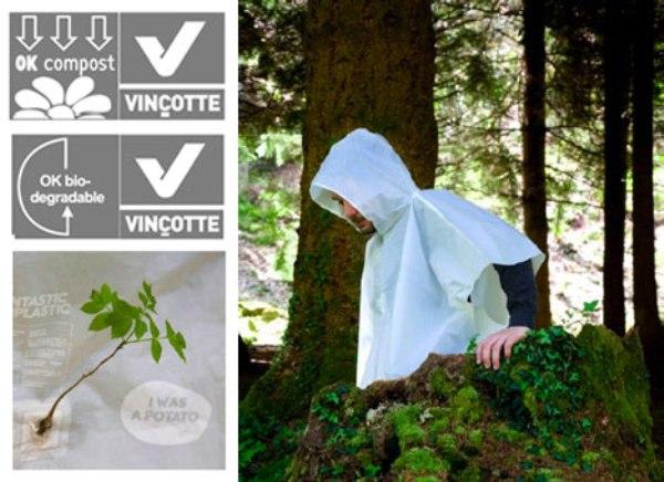Biodegradable Spud Raincoat