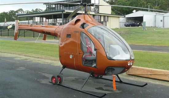 biofuel powered delta d2 prototype chopper