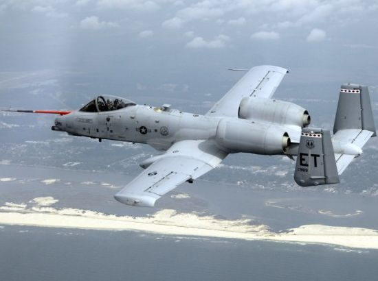 biofuel powered warthog jet
