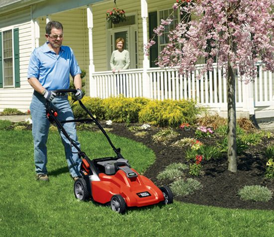 black deckers mowers
