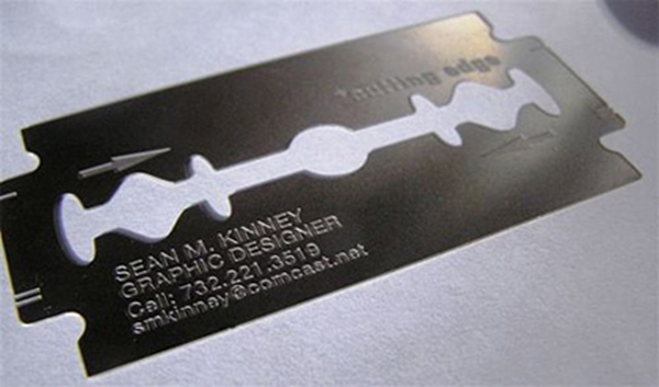 Blade business card