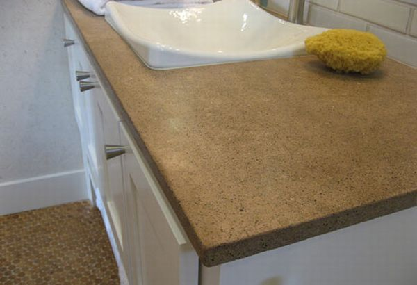 Bottle Stone's trendy 'green' counter tops