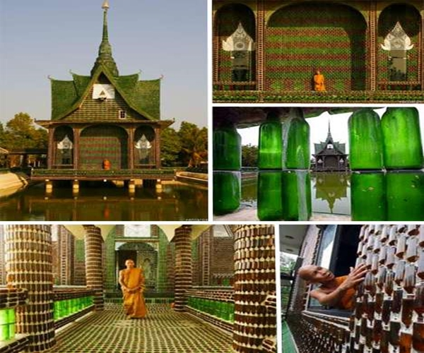 Bottle temple