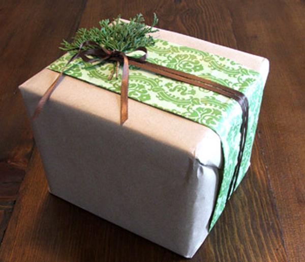 Box gifts wrap