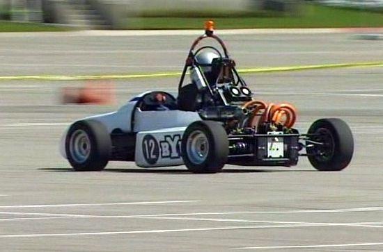 byu hybrid electric racecar 2