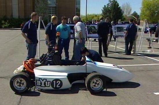 byu hybrid electric racecar 5