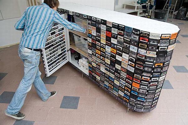 Cassette Tape Closet