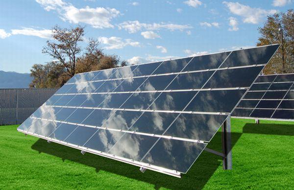 Cheap solar power