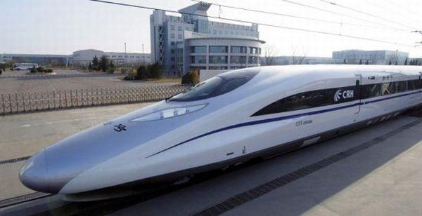 China's new Harmony high-speed train