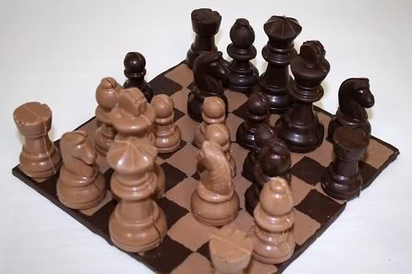 Chocolate Chess Set