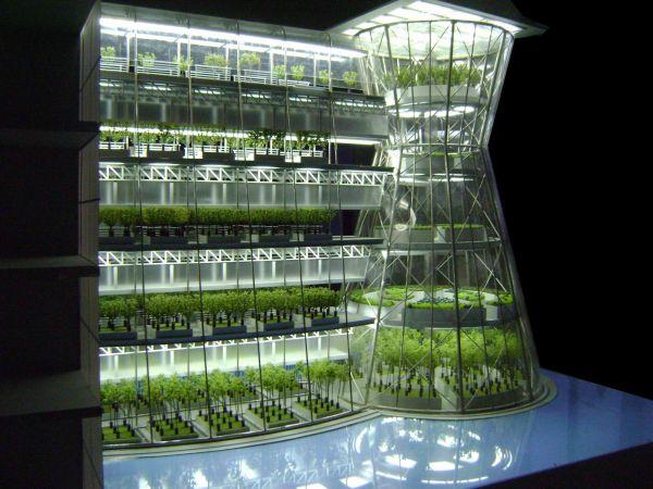 Clepsydra vertical Farming