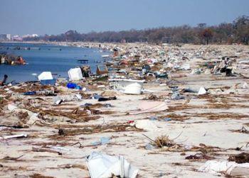 coastline ravaged by hurricane katrina 9