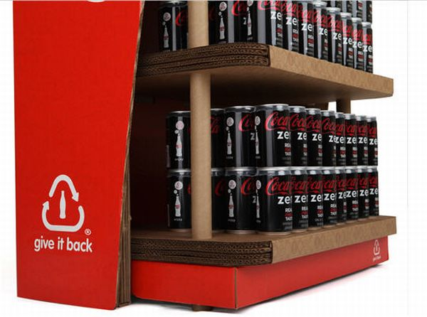 coca cola recyclable rack 2