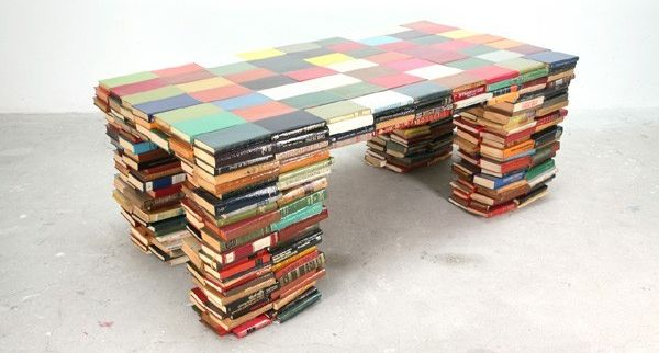 Coffee table from phone directory
