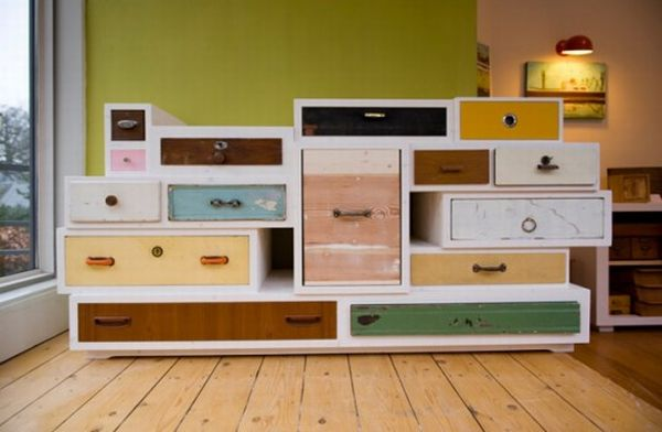 Beau Colorful Cabinetry
