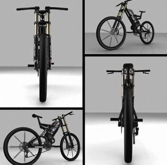 conway electric bike 1