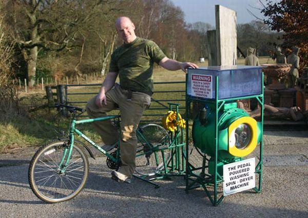 CYCLEAN BIKE-POWERED WASHING MACHINE