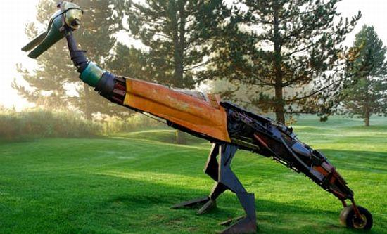 davide pans wildlife sculptures 4