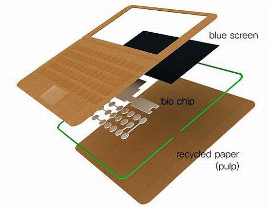 disposable paper laptop 5