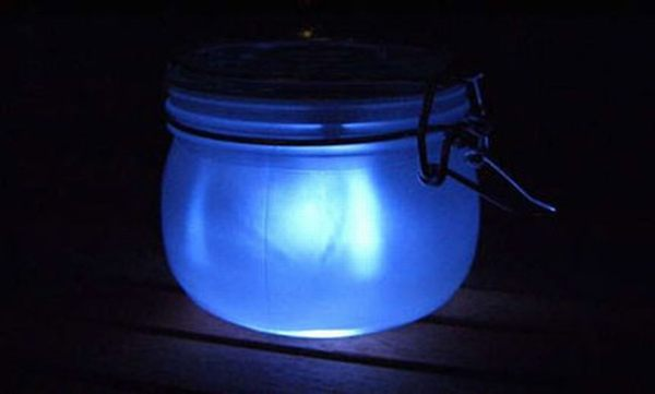 DIY Solar Sun Jar Light