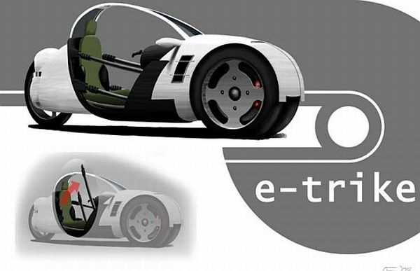 E- trike concept  by onno fridrich
