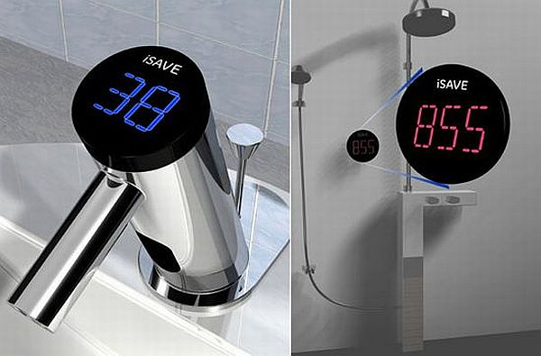 Eco friendly iSAVE faucet