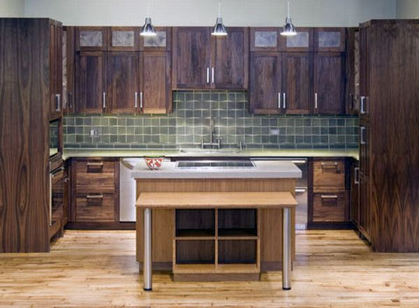 Eco-friendly kitchen cabinet with beautiful design